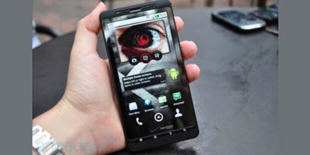 Android-Smartphone mit 4,4 Zoll Display