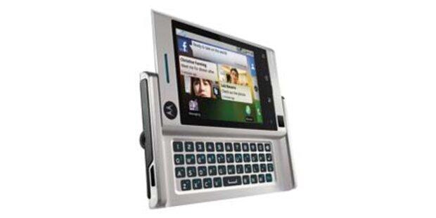 Motorola Android- Handy Devour startet
