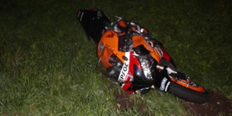 Motorradfahrer bei Unfall in OÖ. getötet
