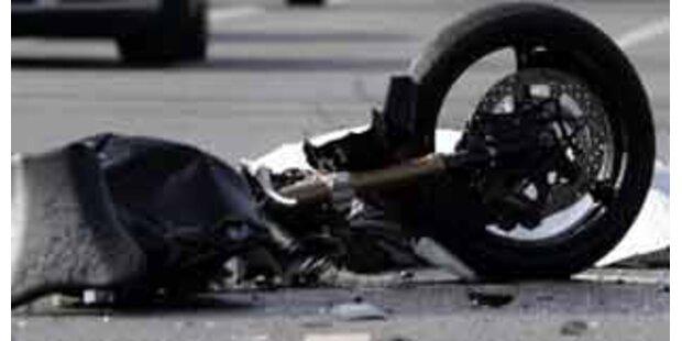 Salzburger bei Motorrad-Crash getötet