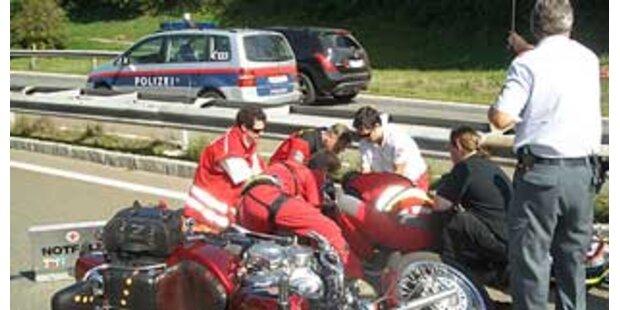 Motorradfahrer in OÖ tödlich verunglückt