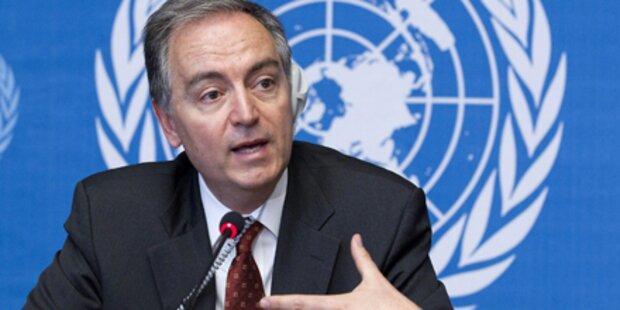 UN fordert Feuerpause für Hilfe