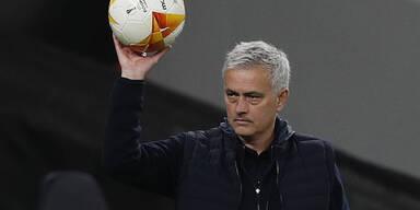 Startrainer Mourinho konnte mit dem Auftritt seines Teams zufrieden sein