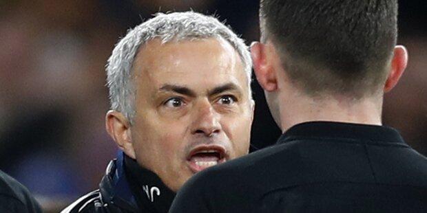 Ließ Mourinho Chelsea-Star niedertreten?