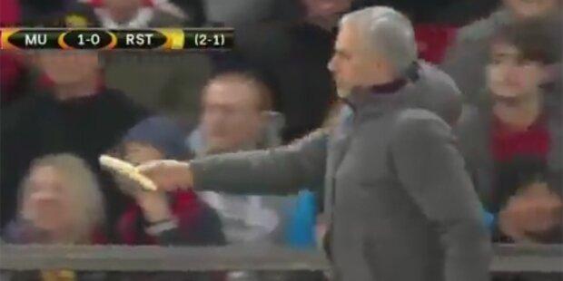 Darum machte sich Mourinho zum Affen