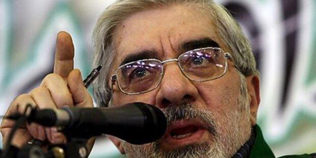 Iran: Hausarrest für Oppositionsführer