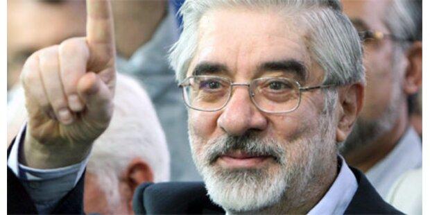 Moussavi würde für sein Volk sterben