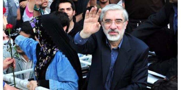 Oppositionsführer sind noch im Iran