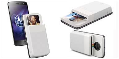 Motorola-Smartphone wird zum Foto-Drucker