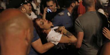 Turin: Massenpanik bei Public Viewing
