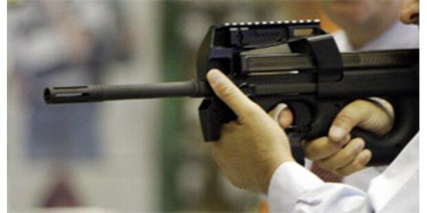 Albaner erschoss Vater mit Maschinenpistole
