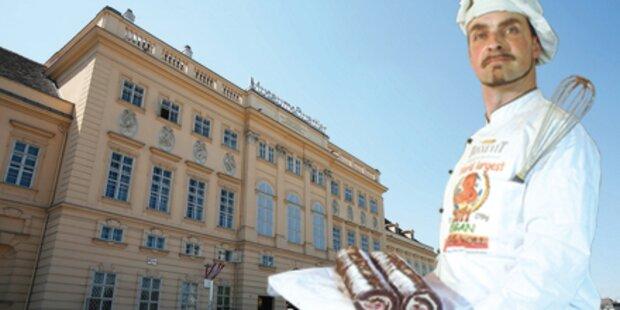 Größte Schokorolle der Welt im MQ