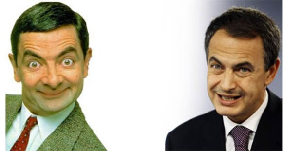 Mr. Bean statt Zapatero auf EU-Homepage