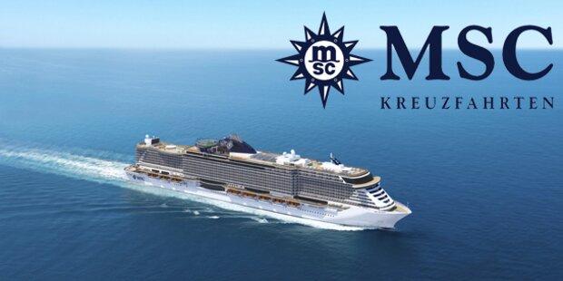 Eine Traumreise mit MSC Kreuzfahrten!