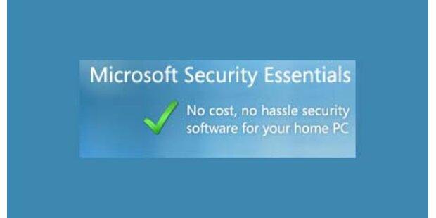 Microsofts Gratis-Virensoftware ist da!