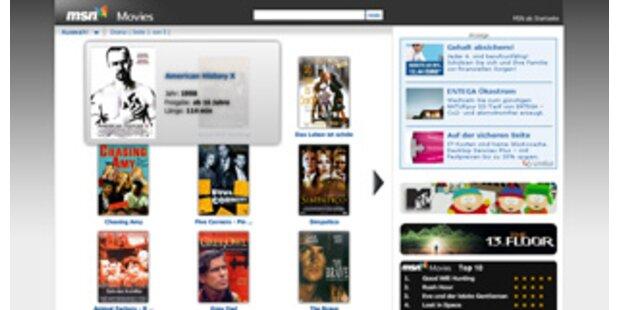 Microsoft startet gratis Videothek im Web