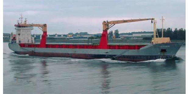 Deutsches Schiff MS Victoria wieder frei
