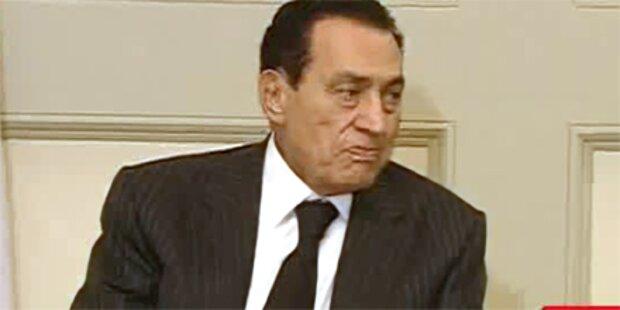 Mubarak findet Zuflucht in Emirat