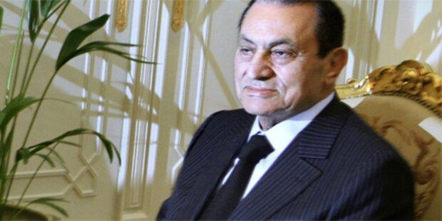 Mubarak geht es immer schlechter
