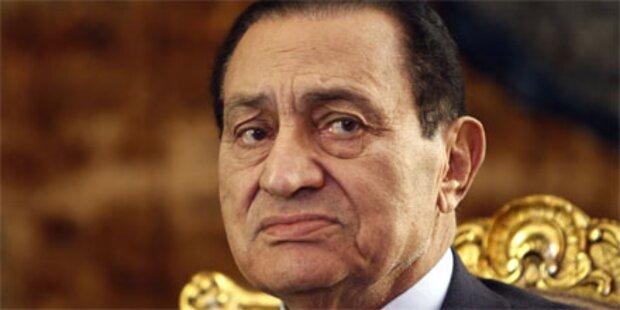 Video aufgetaucht: So floh Mubarak aus Kairo