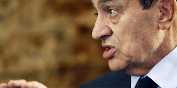 Mubarak-Vertrauter stirbt im Wahlkampf