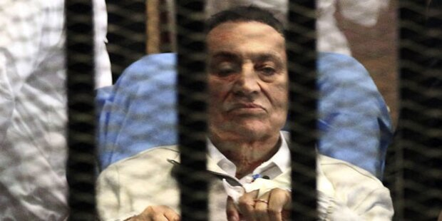 Ägyptens Ex-Präsident Mubarak wieder in Freiheit