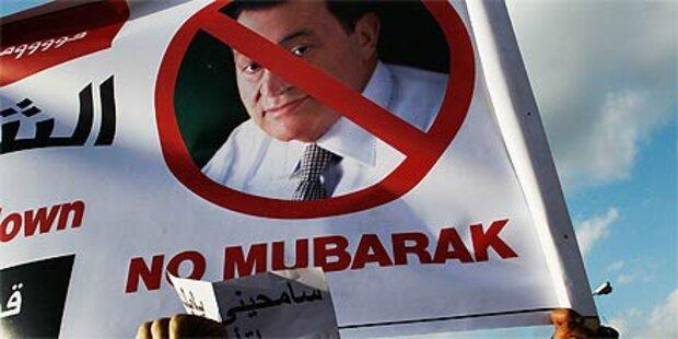 Keine weitere Amtszeit für Mubarak