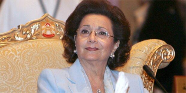 Mubaraks Ehefrau auf Intensivstation