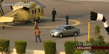 So floh Mubarak aus Kairo