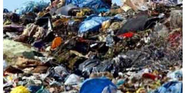 Müllberge wachsen bis 2015 um die Hälfte