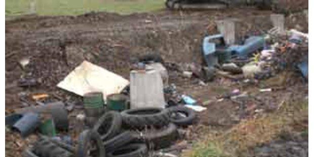 Illegale Mülldeponie stoppt Bau auf Koralm