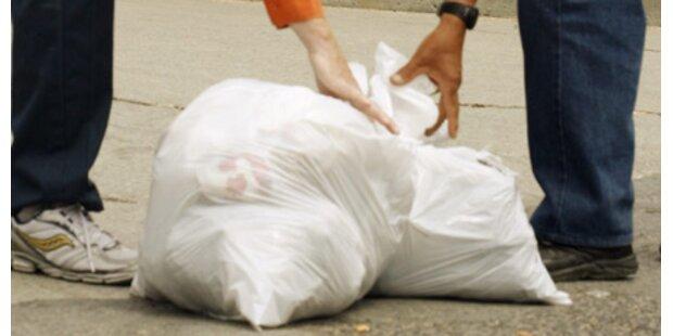 12.500 Tonnen Müll landen auf Autobahnen