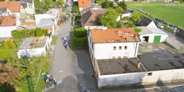 Tornado verwüstet Müllendorf