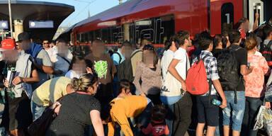 Flüchtlinge: Alle wollen weiter nach Deutschland