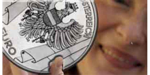 Größte Silbermünze der Welt wird in Tirol geprägt