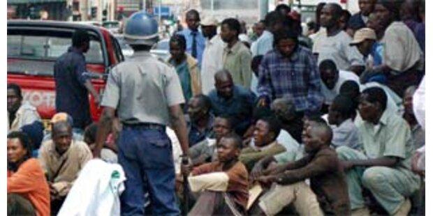 Mugabe-Partei fordert Neuauszählung