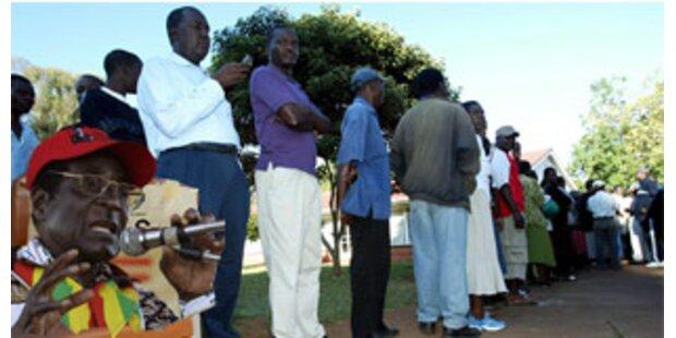 Opposition beansprucht Sieg bei Wahlen in Simbabwe