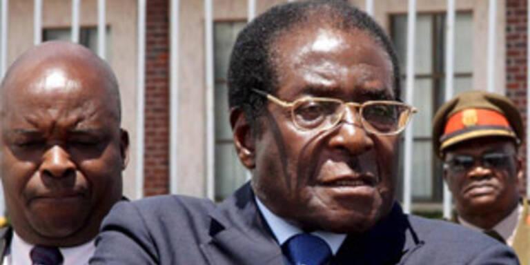 Soll zurücktreten: Robert Mugabe
