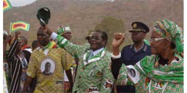 USA warnen Mugabe vor Stichwahl