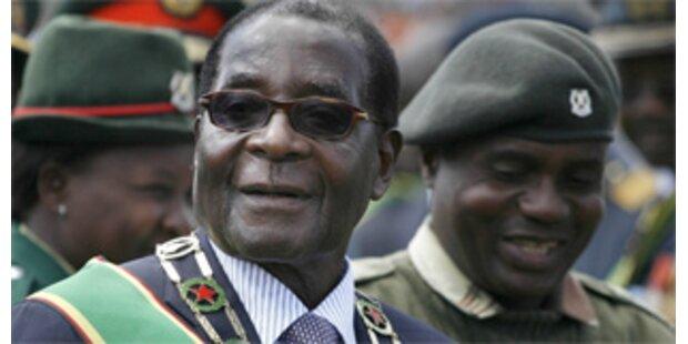 Simbabwe: Noch mehr Macht für Mugabe.