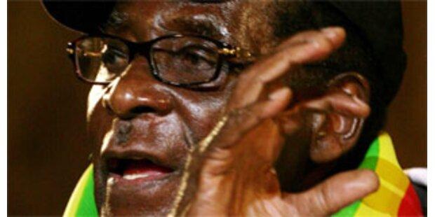 Mugabe und Tsvangirai unterschreiben endlich