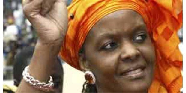 Präsidentenfrau Grace Mugabe verprügelte Reporter