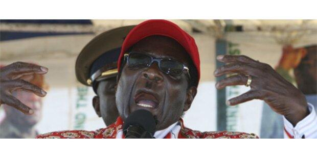Massiver Druck auf Wähler in Simbabwe