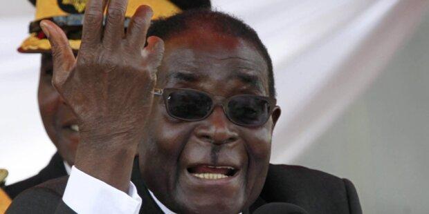 Staatssekretär beleidigte Mugabe - Haft