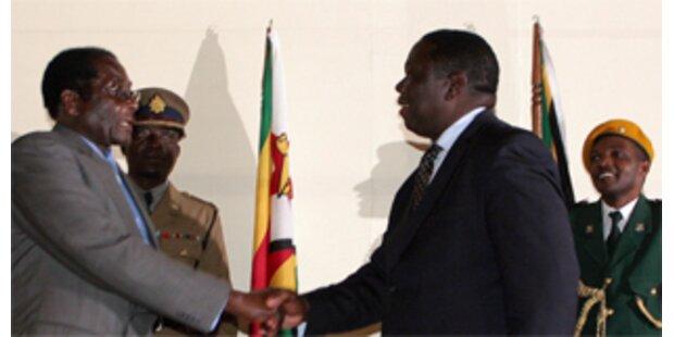 Historisches Treffen in Simbabwe