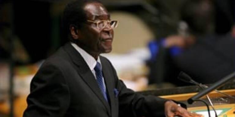 Will noch nicht abtreten: Robert Mugabe
