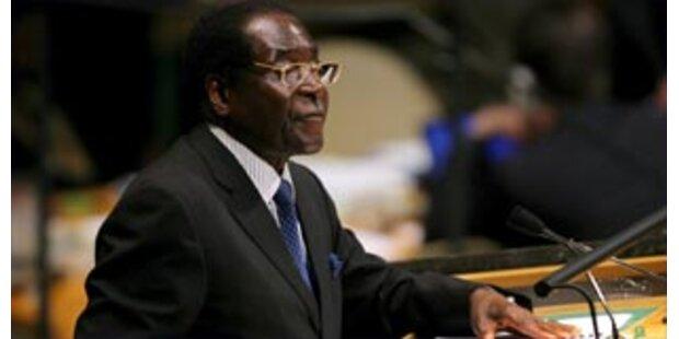 EU fordert Mugabe zum Rücktritt auf