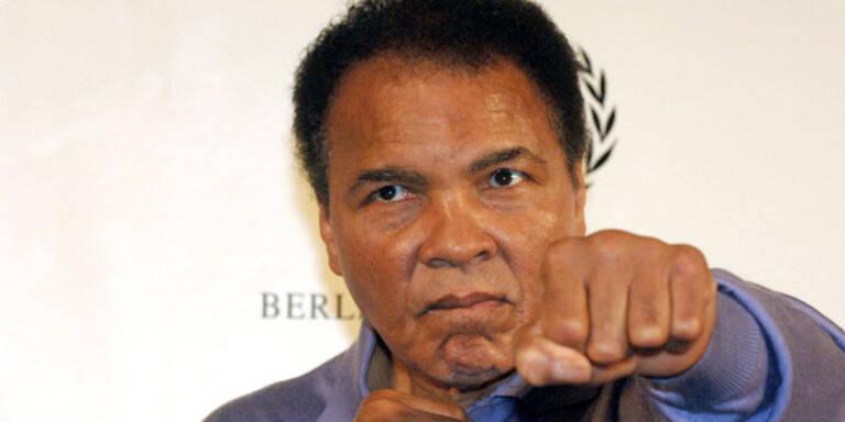 Muhammad Ali wieder im Krankenhaus