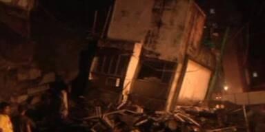 Mehrstöckiges Haus in Mumbai eingestürzt