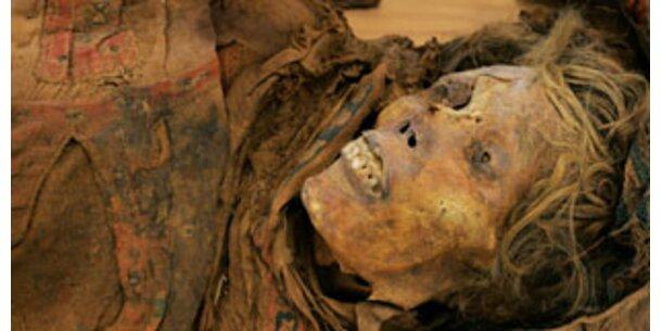 Forscher lüften Geheimnis um blonde Mumie